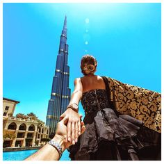 """See 15373 photos and 647 tips from 58074 visitors to Burj Khalifa. """"A must to see if you are in Dubai. Photography Poses, Amazing Photography, Travel Photography, Couple Photography, Foto Dubai, Murad Osmann, Dubai Travel, Dubai Vacation, Dubai Trip"""