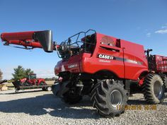 Rear of CaseIH 8240 axial flow Case Ih, International Harvester, Farming, Tractors, Flow, American, Agriculture