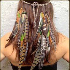 Feathers in your hair