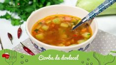 Reteta culinara Ciorba de dovlecei din categoria Ciorbe. Specific Romania. Cum sa faci Ciorba de dovlecei
