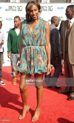 WNBA player Lisa Leslie  arrives at the 2010 BET Awards held at the Shrine Auditorium on June 27, 2010 in Los Angeles, California.  (Photo by Jeff Kravitz/FilmMagic)