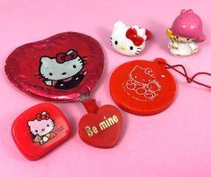 VTG Sanrio (Hello Kitty/LTStars) ❤︎ Clips Trinkets Mascot Mini Lot ❤︎ Rare 80s #Sanrio