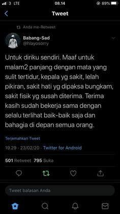 lockscreen self reminder indonesia islam Quotes Rindu, Story Quotes, Self Quotes, Tumblr Quotes, Tweet Quotes, Twitter Quotes, Instagram Quotes, Mood Quotes, Daily Quotes