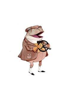 Character Designs (The Wind in the Willows) by Erik Krenz, via Behance
