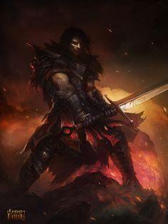 Lorcan [Knight by VeResk0o on deviantART]