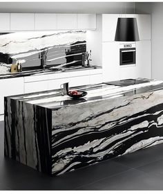 Read More About Unique Kitchen Countertops DIY Refinish Countertops, Tile Countertops, Black Marble Countertops, Kitchen Countertop Materials, Granite Kitchen, Home Decor Kitchen, Diy Kitchen, Küchen Design, House Design