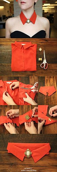 recycle old shirts - bjl