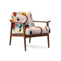 Roar + Rabbit™ x Diego Olivero Mid-Century Show Wood Chair Classic Furniture, Modern Furniture, Furniture Design, Wood Chair Design, Plywood Furniture, Bedroom Chair, Bedroom Furniture, Furniture Dolly, Oversized Furniture
