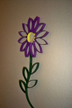 toilet paper roll art project | Version This project is a version of Toilet Paper Roll Wall Art by ...