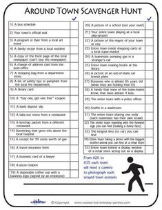 scavenger hunt ideas (with printable checklists) to do right now with your kids. Tips and tricks to help you create your own scavenger hunt anytime Scavenger Hunt Party, Adult Scavenger Hunt, Bachelorette Scavenger Hunt, Halloween Scavenger Hunt, Photo Scavenger Hunts, Teen Scavenger Hunts, Service Scavenger Hunt, School Scavenger Hunt, Scavenger Hunt Riddles