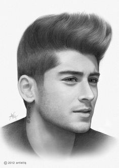 Zayn Malik! This drawing is AMAZAYN!<<< This is a drawing?? << Holy freak.<<<< that is fablouis!!!!!