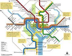 New DC Metro Map