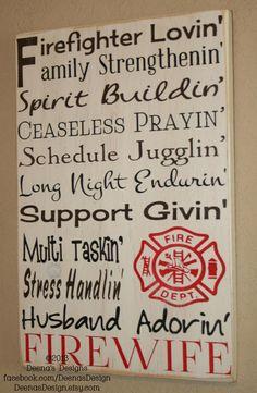 Bon Firefighter Patent Poster Art Decor Wall Blueprint Gift