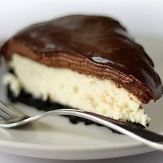 <3 Deep Dark Chocolate Cheesecake  | Food & Drink | Pinterest