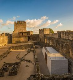 New History: the Visitors' Centre at Pombal Castle, Portugal, by Comoco Arquitectos   Yatzer
