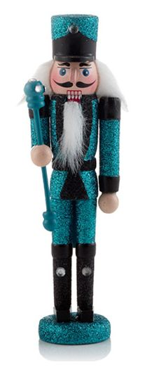 The Coolest Teal Nutcracker