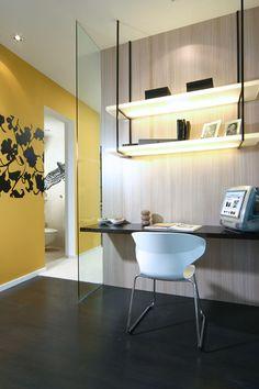 Small study interiors