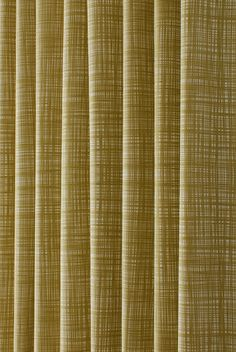 Scribble Olive Curtain Fabric