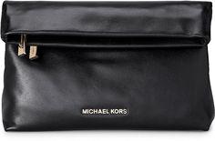Clutch Bag DARIA von Michael Kors in schwarz für Damen. Gr. 1