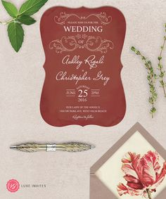 6 top pics for #wedding #invitations in 2015.