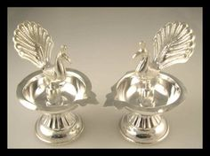 Hello Ladies I am posting some of the silver accessories I found interesting. If anyone has any more latest designs or items could you post them. Home Wedding Decorations, Decor Wedding, Wedding Colors, Wedding Flowers, Jewelry Design Earrings, Gold Earrings Designs, Silver Jewelry, Gold Designs, Silver Pooja Items