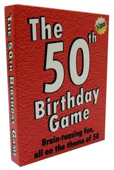 50th Birthday Party Ideas and Games Happy 50th Birthday, Fifty Birthday, Fiftieth Birthday,