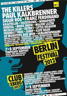 who wants to go to Berlin for the weekend?   Flyer Berlin Festival by Alfa Romeo MiTo Official Channel, via Flickr