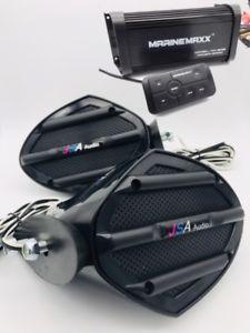a jet ski speaker kit stereo amplifier bluetooth system