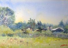 Watercolor painting〜透明水彩でやんばるの風景〜                                                                                                                                                                                 もっと見る