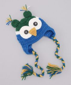 Love this owl beanie on sale at #zulily today!