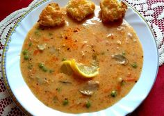 Cheeseburger Chowder, Curry, Soup, Ethnic Recipes, Curries, Soups