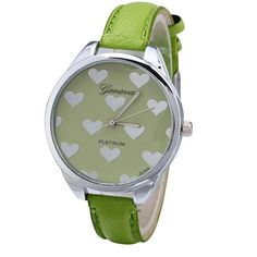 -Spread the Love- Genvivia Dial Quartz Wrist Watch