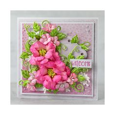 Blog - Creative Inspiration for you next Project + Snowy Pines Sneak Peek Heartfelt Creations Cards, Clear Glue, Paper Crafts, Diy Crafts, Card Making Tutorials, Pink Paper, Card Maker, Flower Shape, Pink Peonies