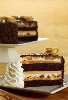 Cheesecake Factory's Reeses Peanut Butter Chocolate Cake Cheesecake :)