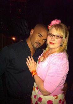 Kirsten and Shemar   Criminal Minds   ¸.•`♥¸.•`♥