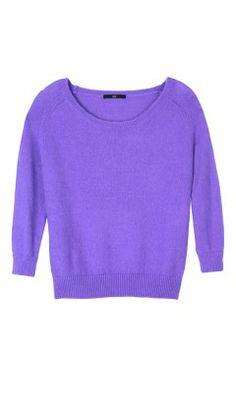 b6e4bb77eeae Ribbed Mohair 3 4 Sleeve Sweater - New Arrivals
