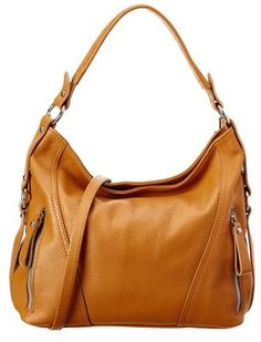 16a69d5616 Massimo Castelli Italian Leather Katrice Leather Hobo