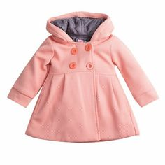 Girls Trench Coat, Hooded Trench Coat, Hooded Jacket, Hooded Coats, Windbreaker Jacket, Toddler Girl Fall, Baby Girl Winter, Baby Outfits, Kids Outfits