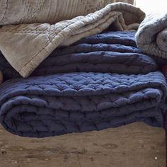 Ultimate Silk Bedspread - King/Superking - Midnight Blue