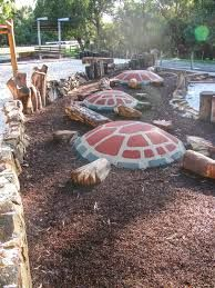 Image result for playground with natural materials