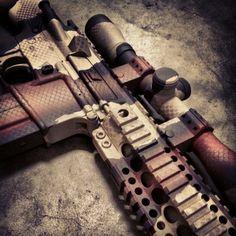 Copperhead pattern AR-15