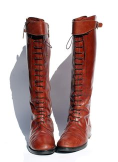oh! brown leather riding boots :) must have