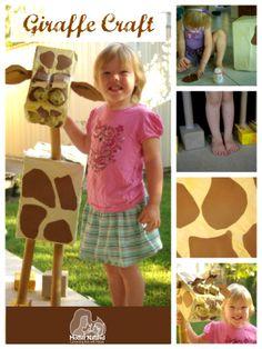 Giraffe Craft #giraffe