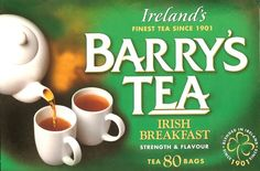 Goes well with a full Irish breakfast!