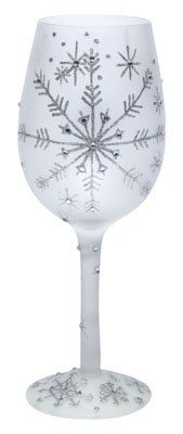 Lolita Wine Glass Silver Snow Flake  GLS115545H * Find out more about the great product at the image link.Note:It is affiliate link to Amazon.