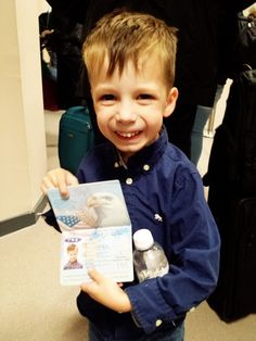 Real-life experiences, flying internationally with kids!