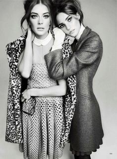 Julia Dunstall & Daniela Mirzac | Txema Yeste | Marie Claire US June 2012 | Summer School - 8 Style | Sensuality Living - Anne of Carversville Women's News