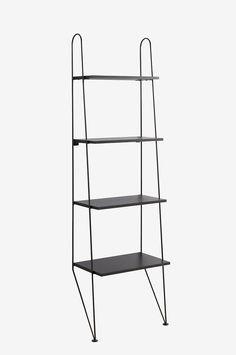Ellos Home Steghylla Ester - Svart - Möbler - Homeroom.se Bath Storage, First Apartment, Ladder Bookcase, New Homes, Shelves, Furniture, Home Decor, Design, Parlour