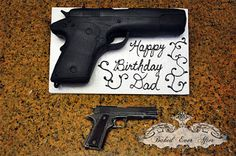Nothing says happy birthday like a frosted firearm :)