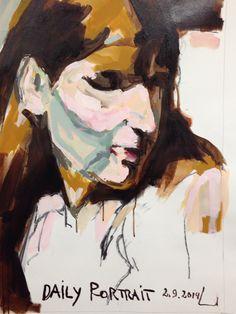 W.DECHANT - 2.9.2014 - 62 x 89 cm - acrylic / canvas - NEXT TOMORROW